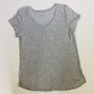 "Betsey Johnson Tops - Betsey Johnson ""Love"" Light Gray T-Shirt | Size XL"